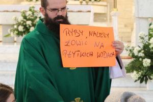 Msza św. dla dzieci z ks. Grzegorzem
