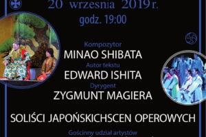 """Zaproszenie na Operę pt. """"Zapomniani chłopcy"""" 20.09.2019 r."""