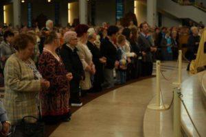 Pielgrzymka Żywego Różańca do Łagiewnik oraz wręczenie Listów Gratulacyjnych dla zelatorek