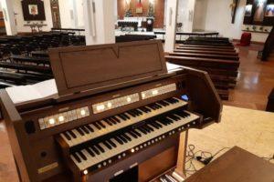 Nowe organy w dolnym kościele