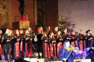 Koncert Chóru żeńskiego CM Triada II – uczniowie i nauczyciele Szkoły Podstawowej nr 126