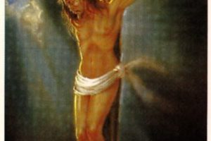 Odpust za odmówienie modlitwy do Chrystusa Ukrzyżowanego