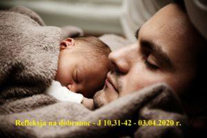 Refleksja na Dobranoc – J 10,31-42 -03.04.2020 r.