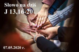 Słowo na dziś – 07.05.2020 r.