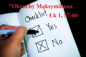 """""""Okruchy"""" Maksymiliana – 23.12.2020 r."""