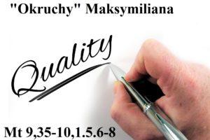 """""""Okruchy"""" Maksymiliana – 05.12.2020 r."""