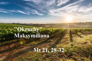 """""""Okruchy"""" Maksymiliana – 15.12.2020r."""