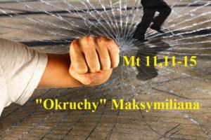 """""""Okruchy"""" Maksymiliana – 10.12.2020 r."""